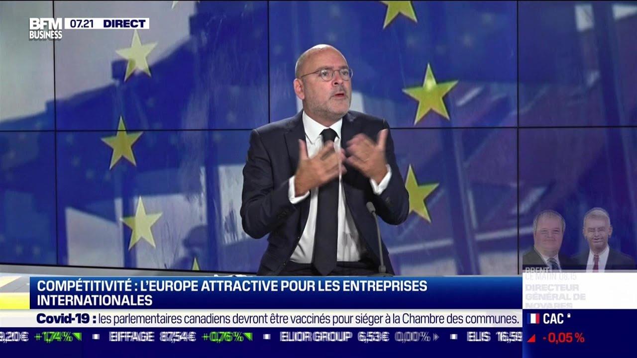 Compétitivité, l'Europe très attractive pour les entreprises internationales