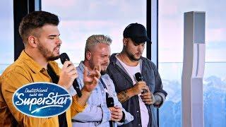 "Gruppe 11: Kevin, Ricardo & Manolito mit ""You are the Reason"" von Callum Scott | DSDS 2020"