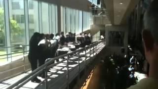 Nimitz Drum Line Performs for Zale Corporation