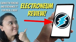 ELECTRONEUM APP REVIEW! | Earn TOKENS IN EXCHANGE FOR REAL CASH FOR FREE! #ExtraIncome #CloudMining
