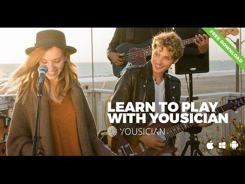 Yousician Gitarre lernen Video