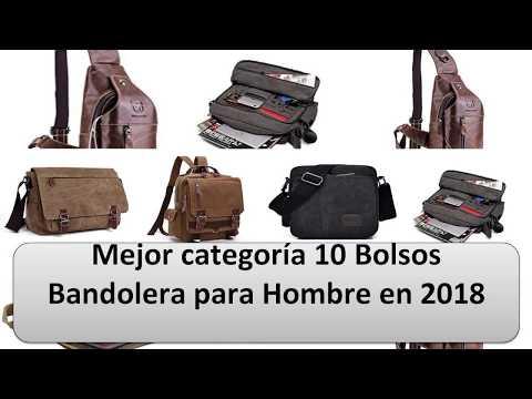 Lo más arriba 10 Bolsos Bandolera para Hombre en 2018