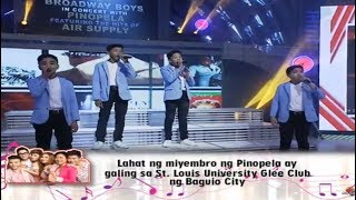 Broadway Boys w/ PINOPELA | Eat Bulaga September 15, 2018
