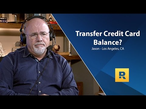 Video Should I Transfer My Credit Card Balance To A 0% Interest Account?