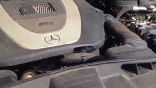 Стук двигателя (Engine knocking) Mercedes W212 E-класс M272