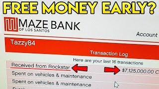 Rockstar Giving Out FREE Money to GTA Online Players Early?