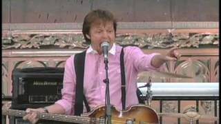Paul McCartney Get Back - on Late Show with David Letterman