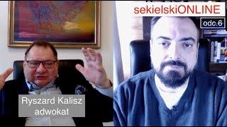 Sekielski ONLINE odc.6 – Ryszard Kalisz, adwokat.