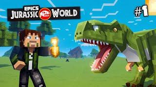 EPiC'S Jurassic World: MINECRAFT DINOSAURS | Custom Modded Survival [Minecraft 1.8 Roleplay]