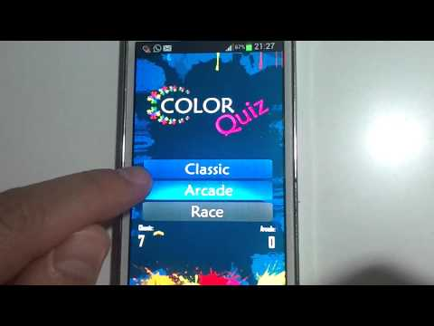 Video of The Impossible Color Quiz
