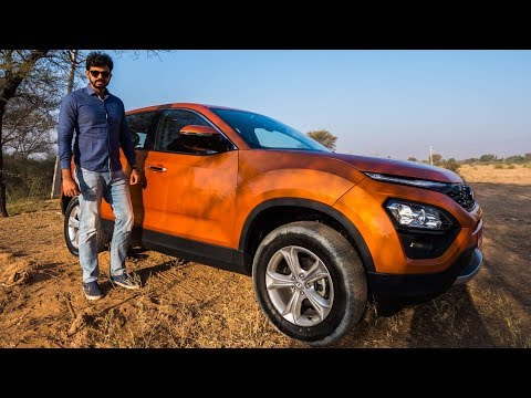 Tata Harrier Review - Phenomenal SUV 🧡| Faisal Khan