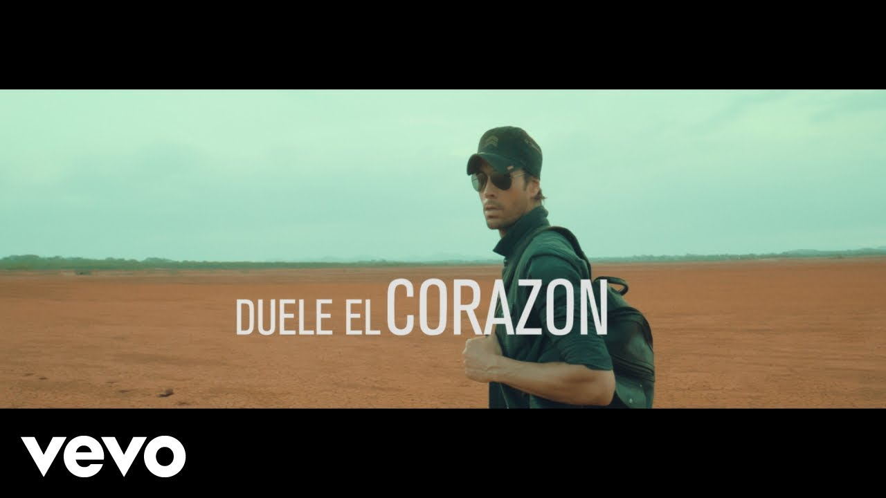 """Duele el Corazon"" ★ Enrique Iglesias Official Video"