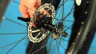 How to install quick release front wheel on bicycle