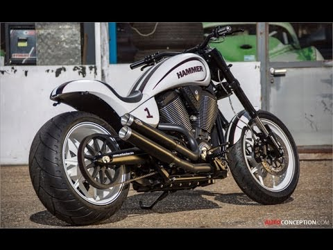 Motorcycle Design: Victory HAMMER S by Urs Erbacher