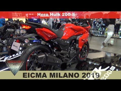 2020 Hero Hunk Motorcycle from India Walkaround EICMA 2019 Fiera Milano Rho