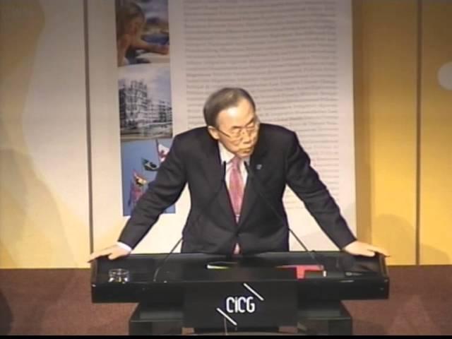 2013 | Mr Ban Ki-Moon