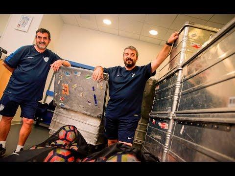 Málaga viaja con 28 futbolistas a Holanda para jugar 4 amistosos