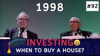 Warren Buffett insight on when is the best time to buy a house. [C:W.B Ep.92]
