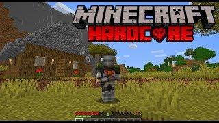 Minecraft Hardcore Livestreamed Series - Episode 2 - Help me not die!