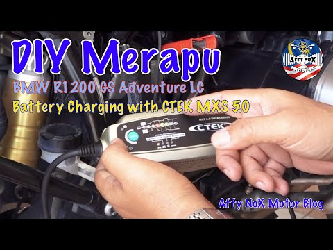 R1200GSA LC Battery Charging