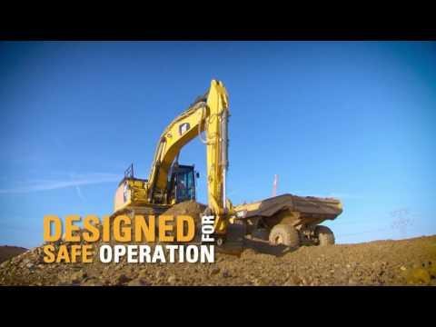 סרטון של באגר 352F XE מבית caterpillar  - טרקטורים וציוד I.T.E