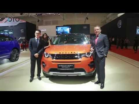 Jaguar Land Rover Menghadirkan Tiga Mobil Andalannya di GIIAS 2016 | Oto.com