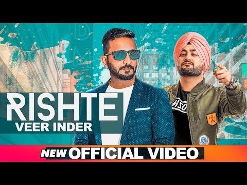 Rishte (Official Video) | Veer Inder | Mix Singh | Latest Punjabi Songs 2019 | Speed Records