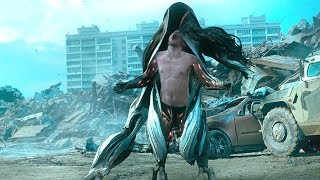 小伙捡到一件外星机甲,穿上后成了超级战士,准备单挑外星人!