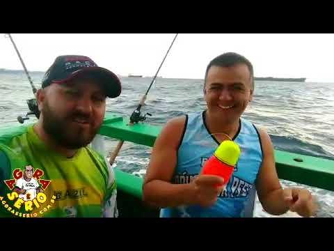 Rogerinho o Maior Pescador em alto Mar de Juquitiba