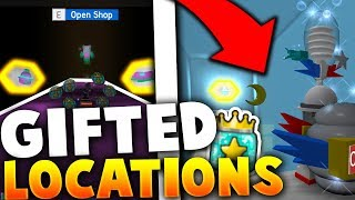ALL OF THE NEW *SECRET* GIFTED EGG & JELLY LOCATIONS IN ROBLOX BEE SWARM SIMULATOR (Update)