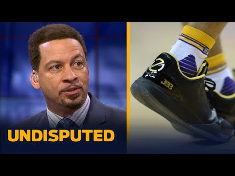 Lonzo Ball ditching BBB shoes - what's going on? Chris Broussard has the answers | UNDISPUTED