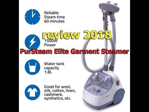 PurSteam Elite Garment Steamer REVIEW 2018