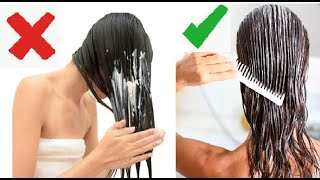 99% People Use Hair Conditioners WRONG! _ || How To Use Hair Conditioners Correctly & Hair & Hacks