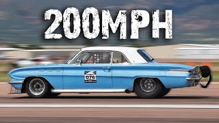 This car was NEVER meant to go THIS FAST!