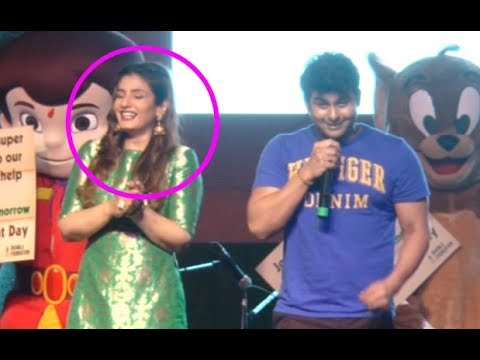 Sanket Bhosale Sanjay Dutt Mimicry - Raveena Tandon Can't Stop Laughing