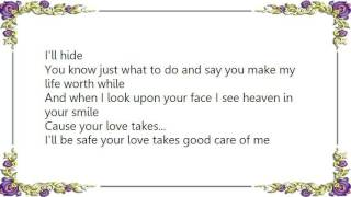 Charlie Louvin - Love Takes Care of Me Lyrics