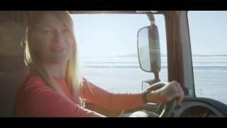 Ice drift | truck drift | PROJECT NORTH - Iwona Blecharczyk Trucking Girl