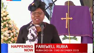 Happening Now: MP Kandara, Alice Wahome eulogizes Charles Rubia