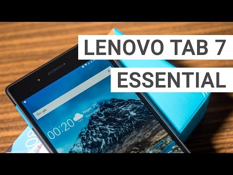 Lenovo Tab7 Essential: 79$ Tablet Unboxing & First Impressions