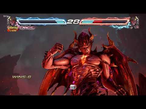 Tekken 7 Treasure Battle Special Match - Steve vs Devil