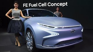 Hyundai FE Fuel Cell Concept   Exterior & Interior ✔