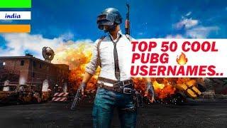 Pubg username ideas: Top 50 cool pubg usernames pubg username suggestions [Hindi]