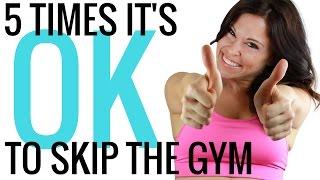 Can I skip the gym?  Christina Carlyle