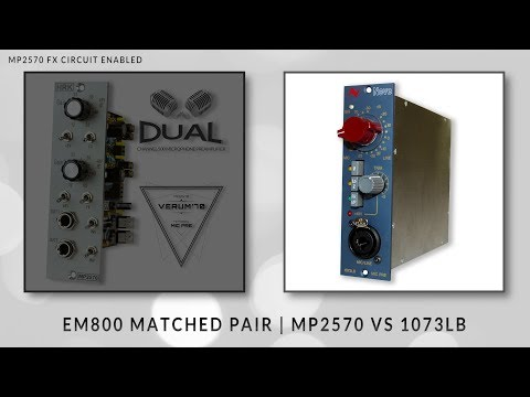 MP2570 | Stereo Mic Preamp - DIY KIT | Bart HRK Official Shop