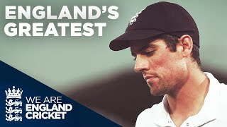 Alastair Cook - England's Greatest | #ThankYouChef