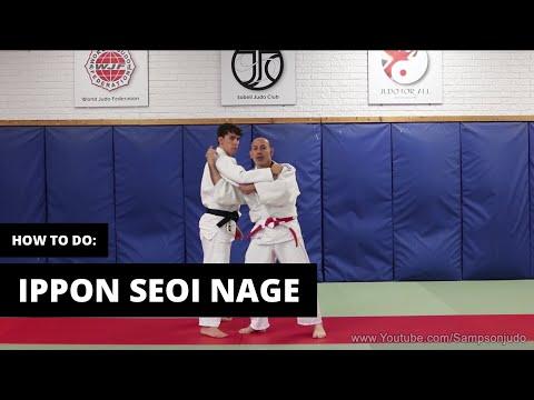 How to do Ippon Seoi Nage