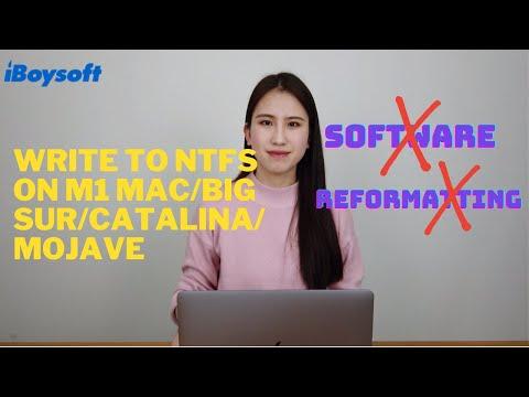 NTFS for Mac Big Sur