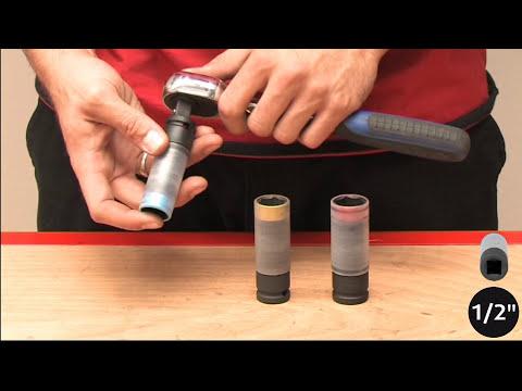 Anwendungsvideo SLIMPOWER Alu-Felgen-Kraft-Stecknuss KS Tools 515.0990
