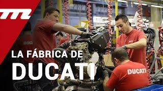 Visitamos la fábrica de Ducati: donde nacen los sueños de Borgo Panigale