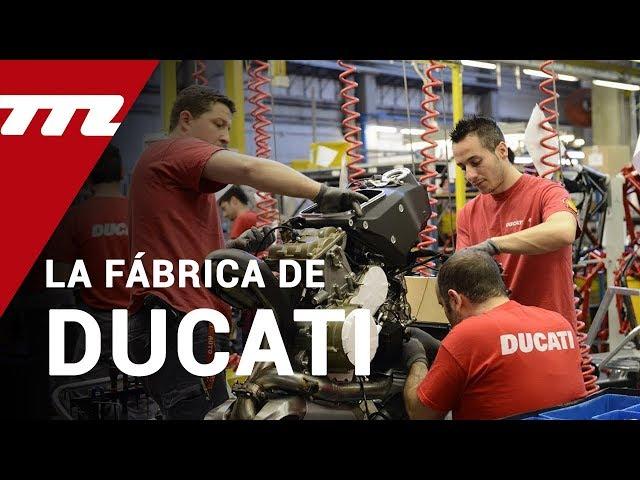 Visitamos la fábrica de Ducati: donde nacen los sueños de Borgo Panigale